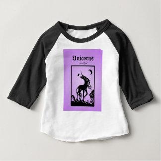 Camiseta Para Bebê Os unicórnios são reais
