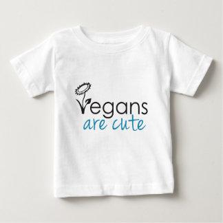 Camiseta Para Bebê Os Vegans são bonitos - os advogados projetam