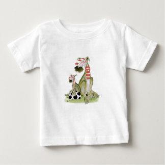 Camiseta Para Bebê os vermelhos do futebol, como o pai gostam do
