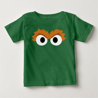 Camiseta Para Bebê Oscar a cara grande do Grouch
