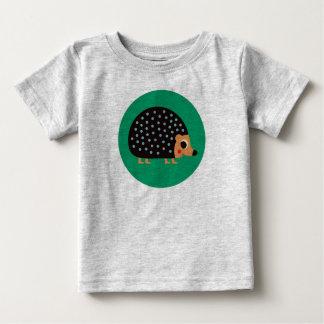 Camiseta Para Bebê Ouriço bonito