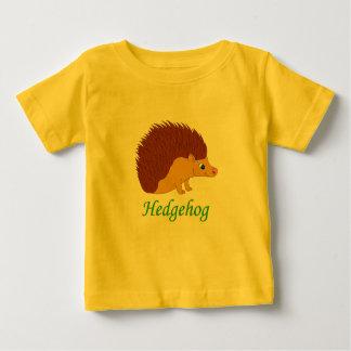 Camiseta Para Bebê Ouriço da ilustração do vetor