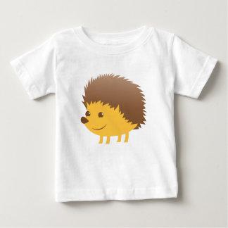 Camiseta Para Bebê ouriço pequeno bonito
