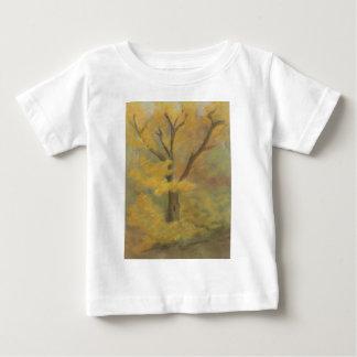 Camiseta Para Bebê Ouro do outono