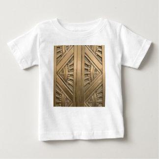Camiseta Para Bebê ouro, nouveau da arte, art deco, vintage, chique,