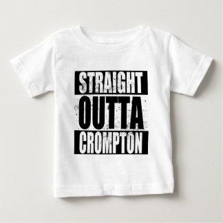 Camiseta Para Bebê Outta reto Crompton (Oldham)