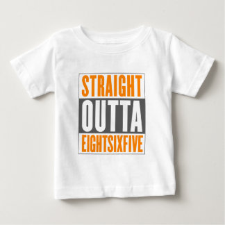 Camiseta Para Bebê Outta reto EightSixFive