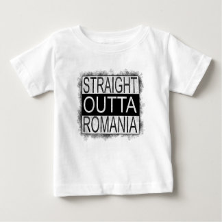 Camiseta Para Bebê Outta reto Romania