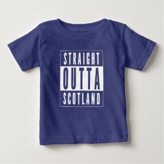 Camiseta Para Bebê Outta reto Scotland