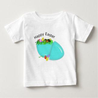 Camiseta Para Bebê Ovo bonito para o felz pascoa para o bebê