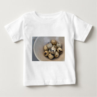 Camiseta Para Bebê Ovos de codorniz