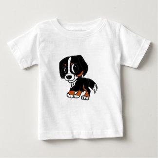 Camiseta Para Bebê oxidação dos desenhos animados do cão de montanha