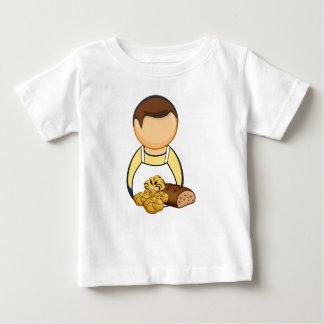 Camiseta Para Bebê Padeiro