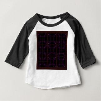 Camiseta Para Bebê Padrões geométricos tirados mão árabes