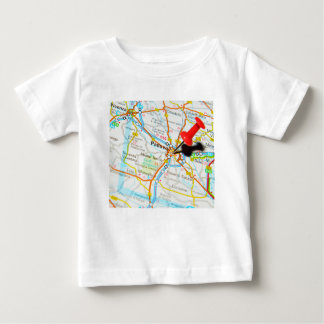Camiseta Para Bebê Padua, Italia
