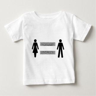 Camiseta Para Bebê Pagamento igual para tudo