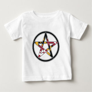 Camiseta Para Bebê Pagan de Maryland transparente