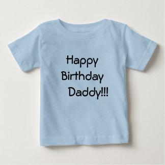 Camiseta Para Bebê Pai do feliz aniversario     !!!