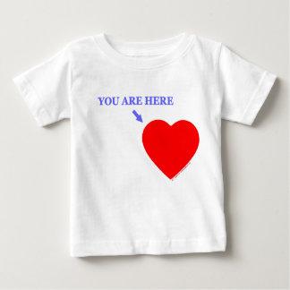 Camiseta Para Bebê Pai faltante do bebê militar postado no ultramar
