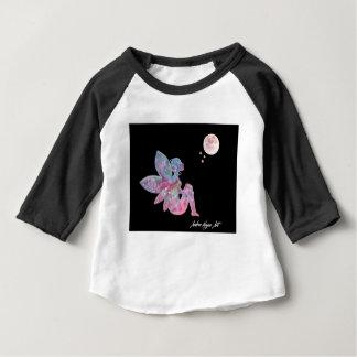 Camiseta Para Bebê País das fadas