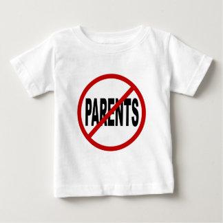 Camiseta Para Bebê Pais de Paresnts /No do ódio permitidos a