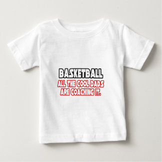 Camiseta Para Bebê Pais legal do basquetebol…