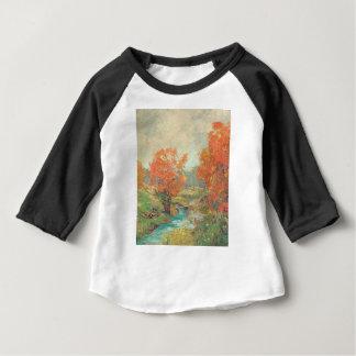 Camiseta Para Bebê Paisagem da queda - Midwest, EUA