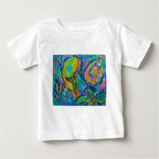 Camiseta Para Bebê Palco um da névoa da borboleta