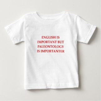 Camiseta Para Bebê palenotology