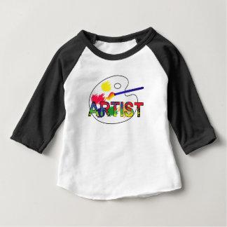 Camiseta Para Bebê Pálete do artista