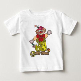 Camiseta Para Bebê Palhaço 1
