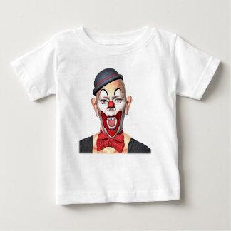 Camiseta Para Bebê Palhaço do assassino que olha à parte dianteira