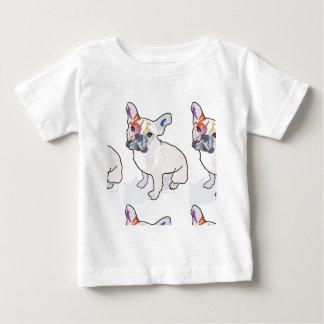 Camiseta Para Bebê palhaço do frenchie