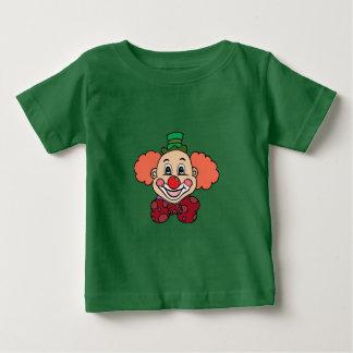 Camiseta Para Bebê Palhaço feliz da cara