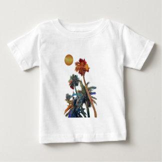 Camiseta Para Bebê Palmas do paraíso