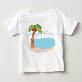 Camiseta Para Bebê Palmeiras