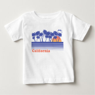 Camiseta Para Bebê Palmeiras de Califórnia