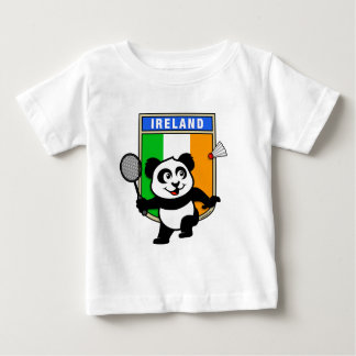 Camiseta Para Bebê Panda de Ireland do Badminton