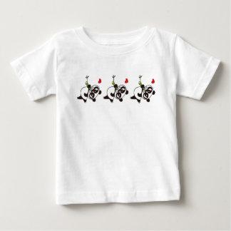Camiseta Para Bebê Panda irritada 39 da cara