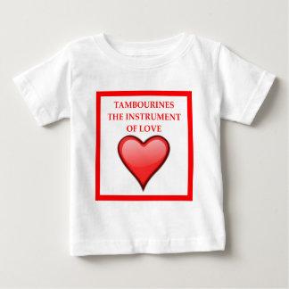 Camiseta Para Bebê pandeiro