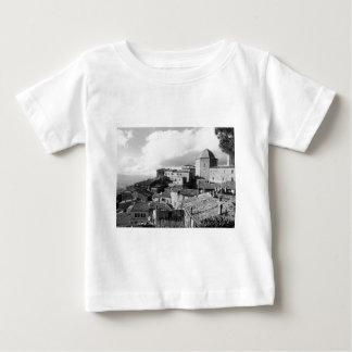 Camiseta Para Bebê Panorama da vila de Volterra, província de Pisa