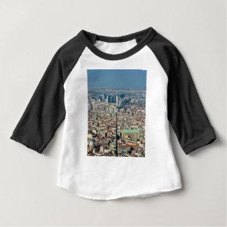 Camiseta Para Bebê Panorama de Nápoles