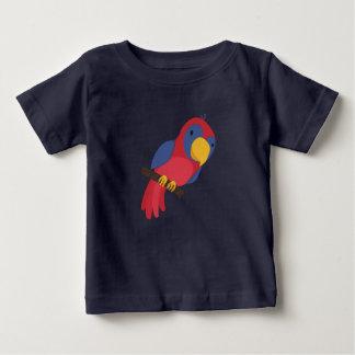 Camiseta Para Bebê Papagaio