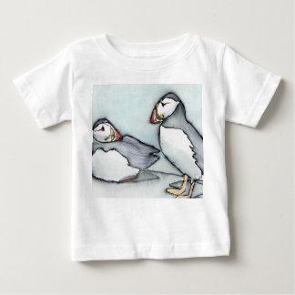 Camiseta Para Bebê papagaio-do-mar