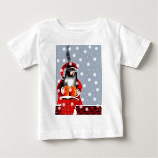 Camiseta Para Bebê Papai noel Sooty
