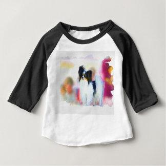 Camiseta Para Bebê Papillon