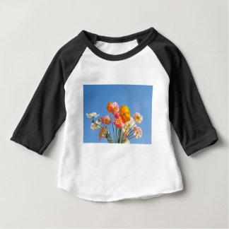 Camiseta Para Bebê Papoilas