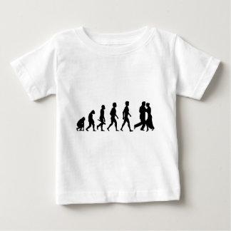 Camiseta Para Bebê Par colaboração relação beijos amores amores