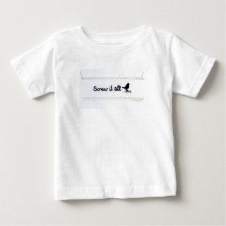 Camiseta Para Bebê Parafuse-o todo o Tshirt do bebê
