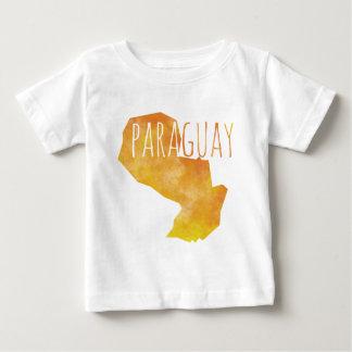 Camiseta Para Bebê Paraguai